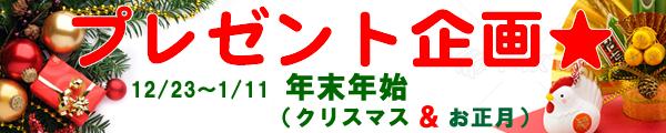 クリスマス・正月プレゼント企画